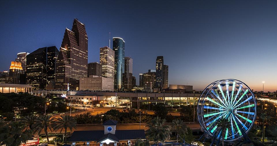 city-skyline Χιούστον, Τέξας